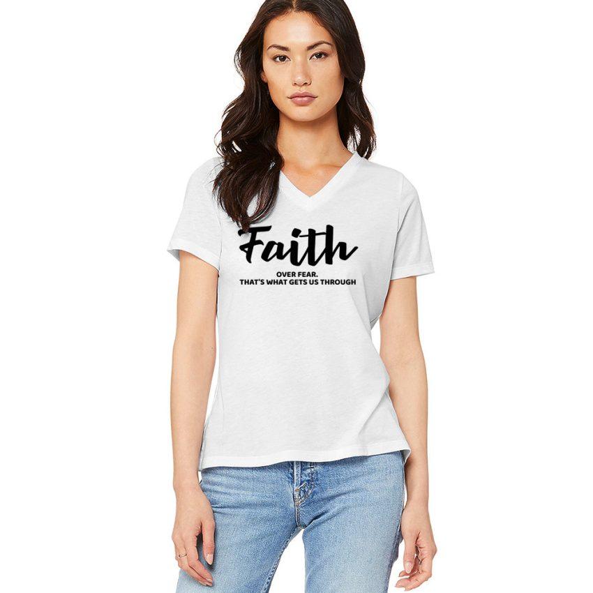 wm-model-wht-faith-Vnk-tee